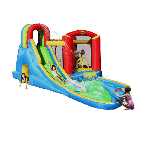 Aanbieding! Happy Hop springkussen Splash Wave Zone 9047N